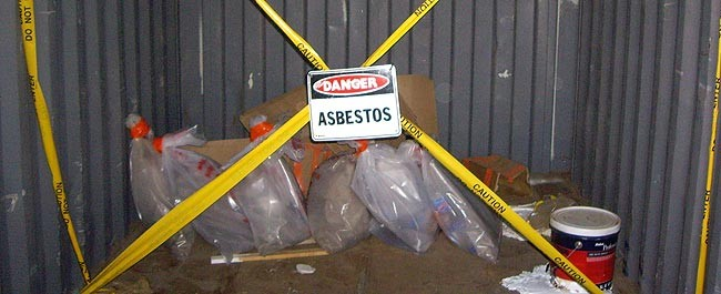asbestos hazard Melville Island