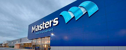 Masters flagship Penrith store
