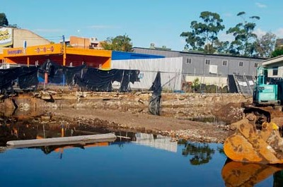 Aldi Wyong site remediation and contamination assessment