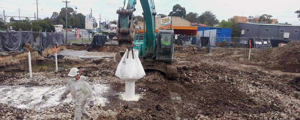 Site remediation at Aldi Wyong